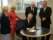 Governor Easley Signs Bill